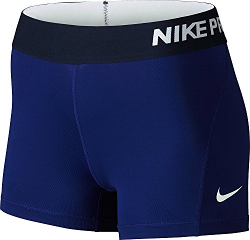 NIKE Short doublé Park Femmes Deep Royal Blue/White