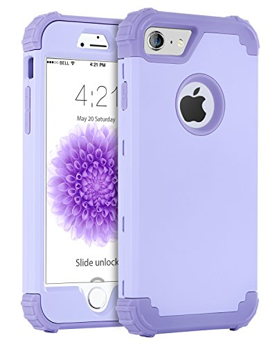 iPhone 6S Schutzhülle, iPhone 6Fall, bentoben 3in 1Hybrid Hard PC und weiche Silikon Heavy Duty Rugged Bumper stoßfest rutschfeste Fullbody CASE Schutzhülle für iPhone 6/6S (11,9cm) - Iphone Blau 6 Otterbox-fälle