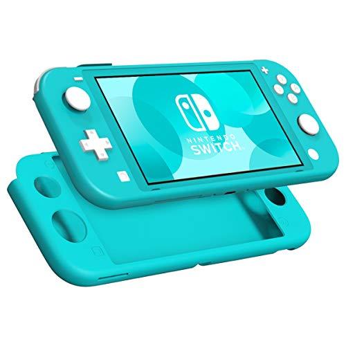 MoKo Étui en Silicone Compatible avec Nintendo Switch Lite, Housse Coque de Protection Durable Anti-Dérapantes, Anti-Rayures, Antichoc, Ultra-Mince et Léger - Turquoise