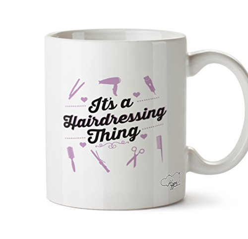 Hippowarehouse It's a hairdressing thing printed mug cup ceramic 10oz