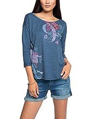 edc by Esprit 076cc1k030, T-Shirt Femme