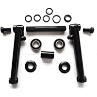 TOKYO MAFIA BMX HOLLOW WELDED CROMO CRANKS AND SEALED BEARING BB SET COMPLETE