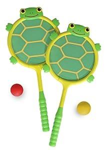 Melissa & Doug 16165 - Schildkrötenschläger und Ballset