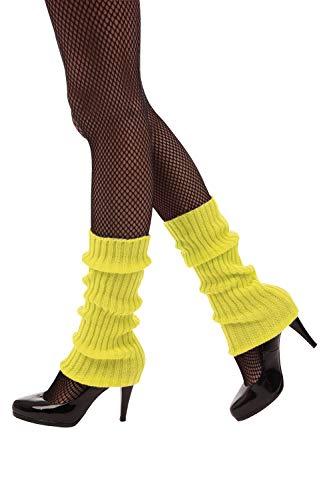 Bristol Novelty BA3315 - Calentador de piernas, color amarillo neón