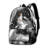 Rogerds The Ace Family School Hiking Travel Sac à Dos Camping Starry Sky Daypack for Teen Boys Girls