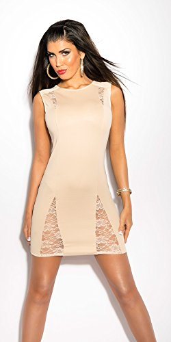 Koucla robe sexy en dentelle koucla by in-stylefashion sKU 0000IN50164 Beige - Beige