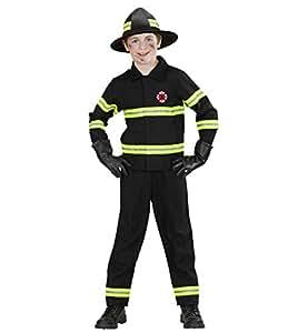 WIDMANN 76577 - Costume da Pompiere in Taglia 8/10 Anni