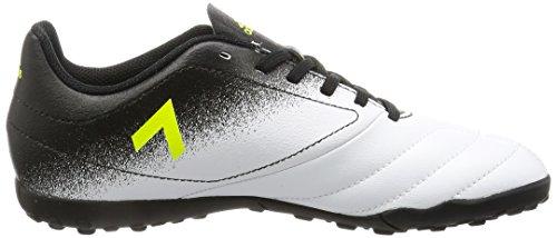 adidas Ace 17.4 Tf, Chaussures de Football Mixte Enfant Blanc (Footwear White/solar Yellow/core Black)