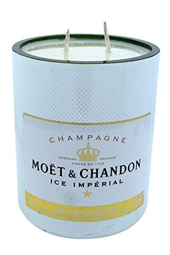 Duftkerze, Note Champagner, in original Moet & Chandon Design-Eiskübel (750ml) zur Innendekoration
