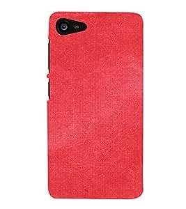 HiFi Designer Phone Back Case Cover Lenovo ZUK Z2 :: Lenovo Zuk Z2 Plus ( Red Pattern Design )