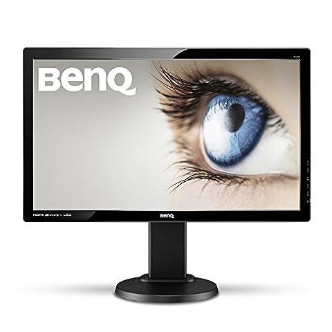 BenQ GL2450HT LED TN 24 inch Widescreen Multimedia Monitor (1920 x 1080, 16:9, 1000:1, 12M:1, 2 ms GTG, DVI/HDMI/Speakers) - Glossy Black