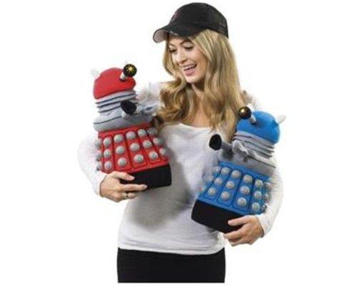 Doctor Who Dalek Deluxe Talking Plush (Blue)