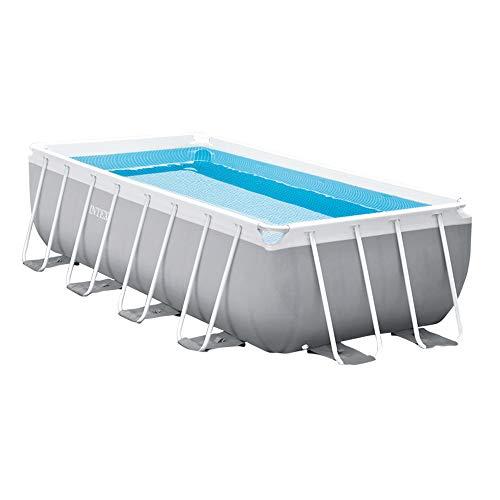 Intex 26788NP Rechteckiger oberirdischer Pool mit Filter, 400 x 200 x 100 cm