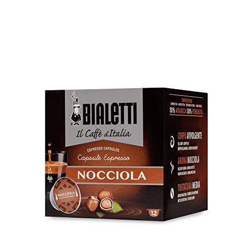 """Bialetti \""""Gourmet\"""" Gusto Nocciola - Confezione da 12 pezzi"""