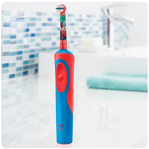 Image of Oral-B Stages Power Kids Electric Toothbrush, Disney Cars and Planes