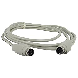 REO 6 foot PS2 (M) to PS2 (M) Cable (Gray)