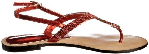 Unze L18258W, Chaussures basses femme Rouge (L18258W)