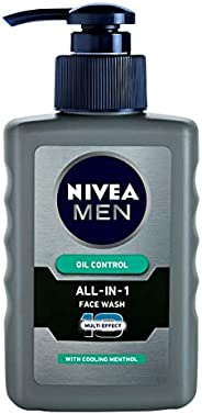 NIVEA Men Face Wash, Oil Control, 10x Vitamin C, 150ml