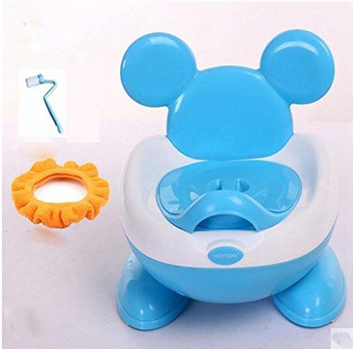 Training Aids Töpfchen Kinder-Urinale, große Kinder-WC, Männer und Frauen Baby-Töpfchen, Säuglings-Urin-Becken-Becken Kinder Frosch Urinal (Farbe : 2*)