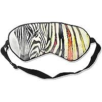 Schlafmaske mit Zebra-Muster – bequeme Schlafmaske für Reisen, Nacht, Mittagsschlaf Mediation, Yoga preisvergleich bei billige-tabletten.eu
