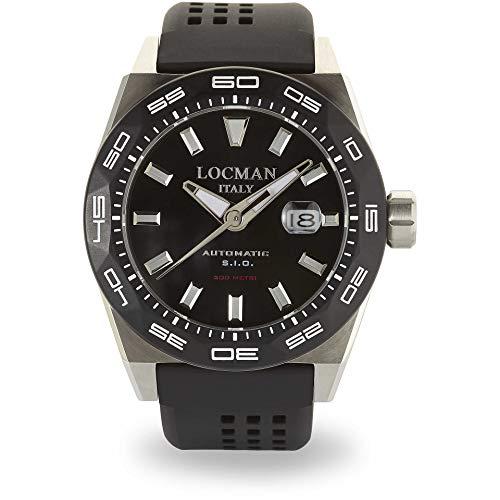 Reloj Mecánico Hombre locman Stealth Casual COD. 0215V1–0kbknks2K