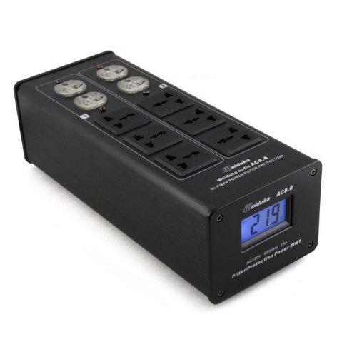 Weiduka AC8, 8 3000 W 15 A Gesamtausgangsleistung Wasserentkeimer Filter AC Steckdose Advanced