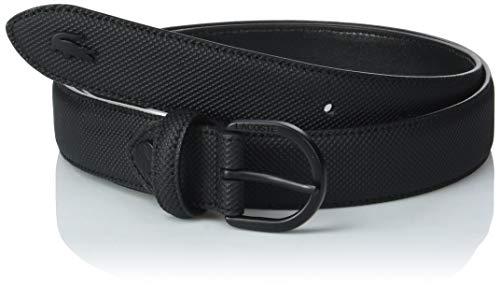 Lacoste Damen Gürtel Rc2112, Schwarz (Black 000), 85 (Herstellergröße: 100)