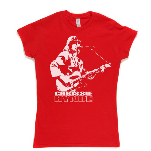 Chrissie Hynde Live Womens Fitted T-shirt Rot