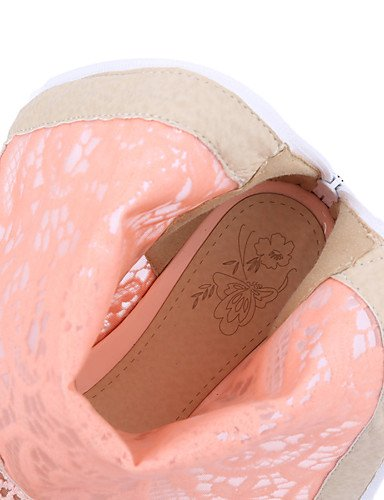 ShangYi Mode Frauen Schuhe Damenschuhe Keile / Fashion Stiefel Outdoor / Büro & Karriere / Casual Keilabsatz OthersBlack / &308 Rosa