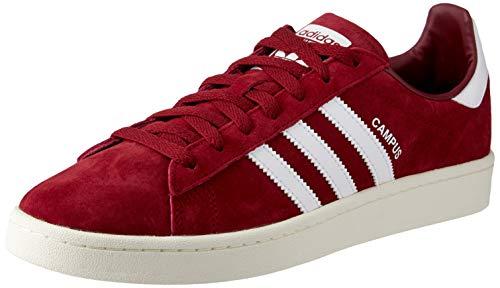 adidas Herren Campus Sneaker, Rot, 43 1/3 EU