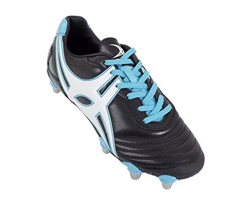 ... GILBERT Forwards Academy Scarpa da Rugby Uomo Nero/Blu ...