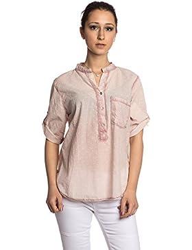 Abbino 83151 Blusas De Verano Con Lunares Tops para Mujer - Hecho en ITALIA - 6 Colores - Entretiempo Primavera...