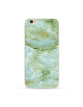 Teryei® TPU Silicona Funda Protección Premium Semi-Transparente Caso cover para iPhone 5/5s/SE - La impresión...
