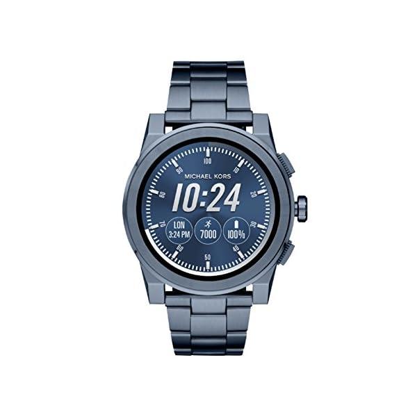 9c8ee309660d4 Smartwatch da Uomo Michael Kors Grayson MKT5028 trova prezzo offerta