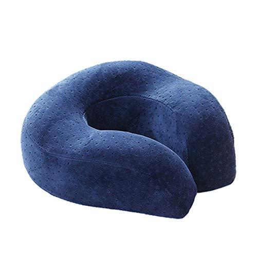Mash Almohadas De Viaje Confort Crystal Velvet Aircraft Pillow Travel Pillow Cervical Pillow Napping...