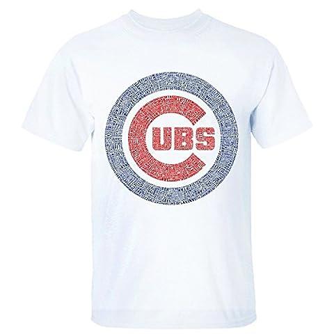 Glorious Retour Étaler hommes de Chicago Cubs Logo Ours Noir
