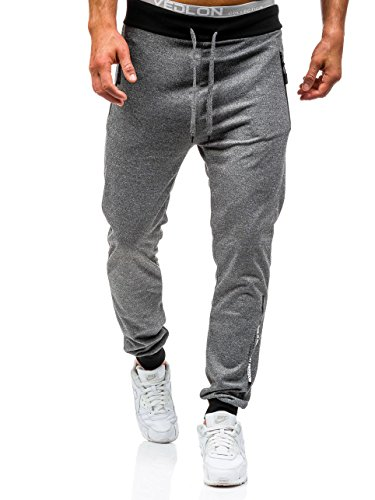 BOLF - Pantaloni sportivi - Jogging - Sport - RED FIREBALL 1067 - Uomo - M Antracite [6F6]