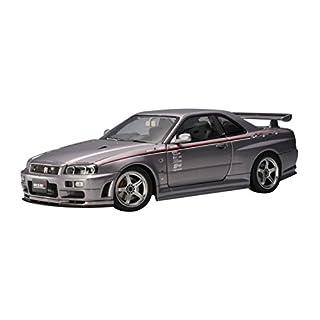 Nissan Skyline GT-R R34 Nismo S-Tune, 2001silber, upgraded - 1:18