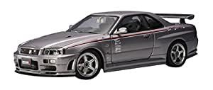 Autoart - 77358 - Véhicule Miniature - Modèle À L'échelle - Nissan Skyline Gtr - R34 - Nismo - S Tune Version - Echelle 1/18