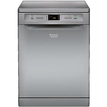 Hotpoint LFF 8M121 CX EU Autonome 14places A++ lave-vaisselle - Lave-vaisselles (Autonome, Acier inoxydable, Acier inoxydable, boutons, LCD, 14 places)