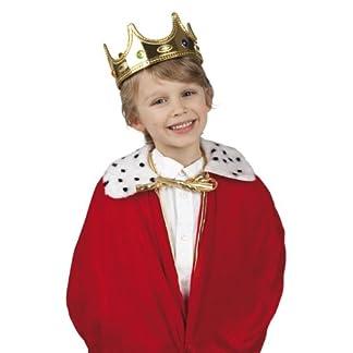 Alsino Niños Carnaval Corona König Kids Piratas Sombrero