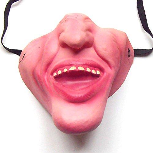 n-ganze lustige Maske Latex-halbe Gesichtsmaske-Tanz-Leistung verkleiden die lustige Person-Masken-Halloween-Maske (19) (Les Kostüm Pour Femme)