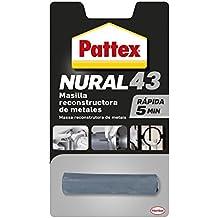 Pattex Nural 43, masilla reconstructora de metales de rápido resultado, ...