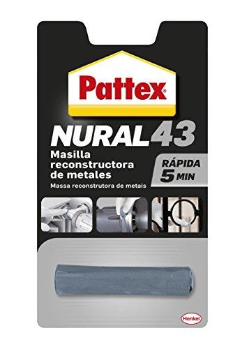 Pattex Nural 43, masilla reconstructora de metales de rápido resultad