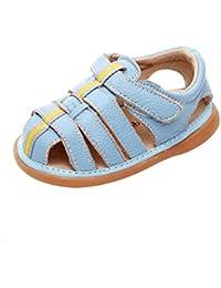 469ae03a8862fd Babyschuhe Sandalen-TAIYCYXGAN Kinder Jungen Sommer Laufeschuhe Rutschfeste  Leder Kleinkind Schuhe Sehr Atmungsaktiv