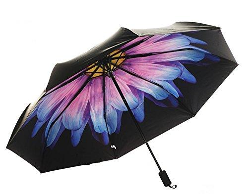 KHSKX Ombrelloni tre femminili Super UV protezione