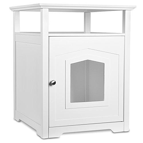 arf-pets-designer-geschlossen-katzenstreu-mobel-box-haus-mit-tisch