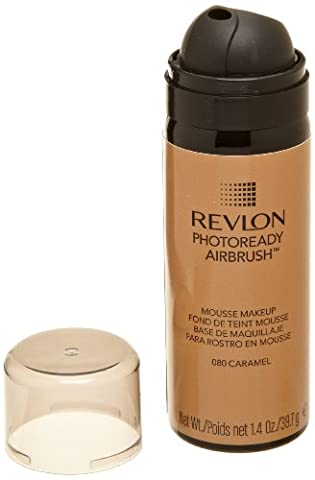 Revlon - Photoready Airbrush - Maquillage Mousse - 080 Caramel