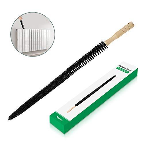 Cepillo del radiador, AIEVE Cepillo de limpieza del radiador largo Secador Cepillo para pelusas Lavadora...
