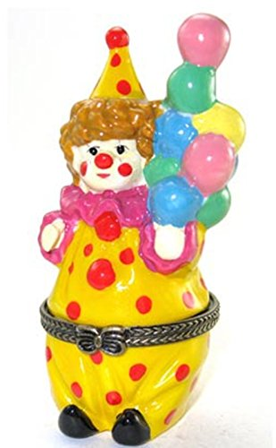 Circus Clown Kostüm mit Luftballons Schmuckkästchen biokompatibel (Kostüm Luftballon Lieferung)